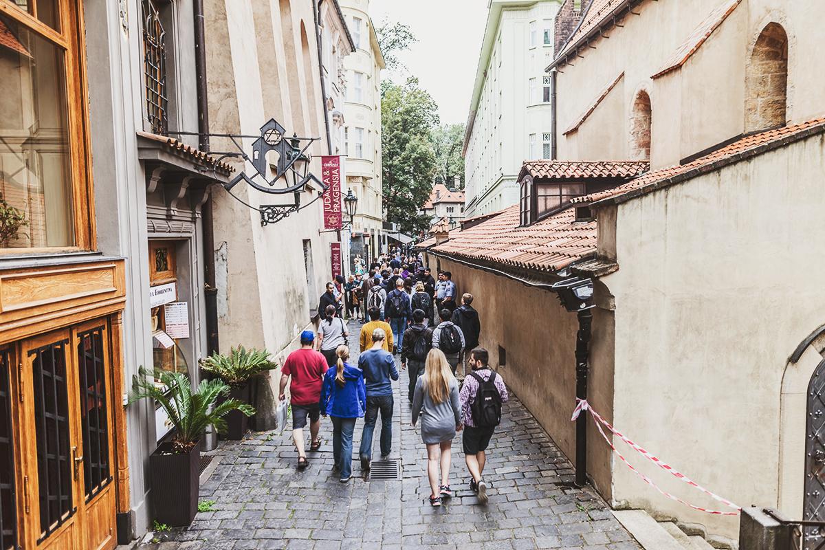 Free Walking Tour i Prag