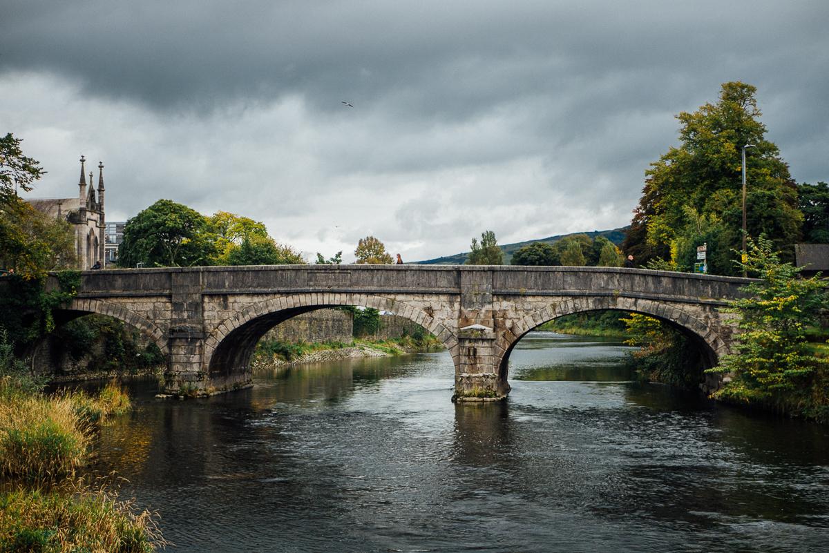 Kendal - gateway till Lake District, England