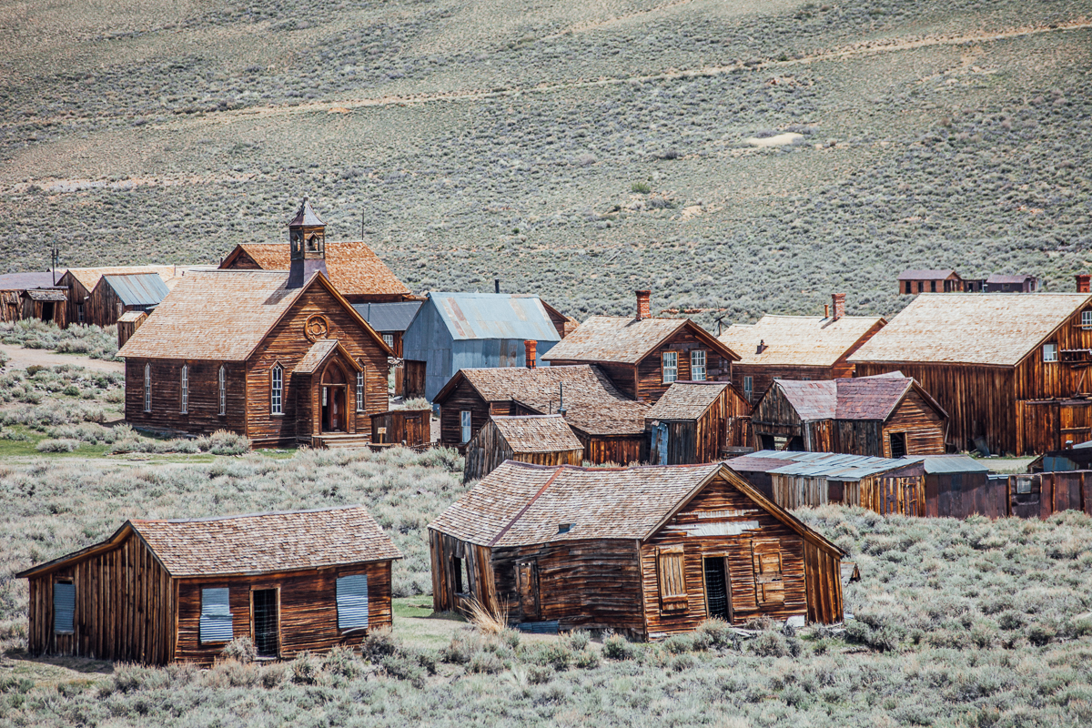 Bodie, a ghost town in California