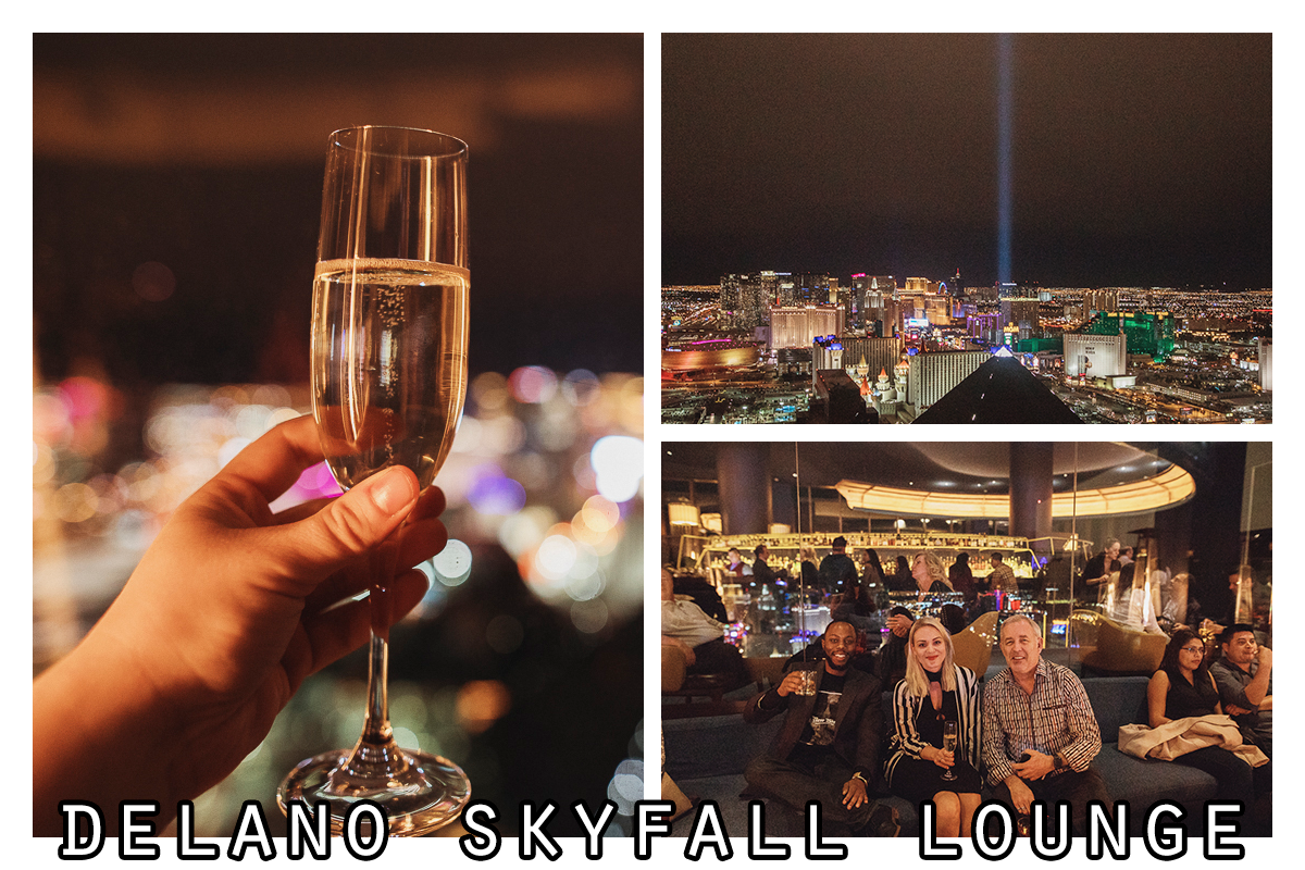 Delano Skyfall Lounge | restaurang Las Vegas