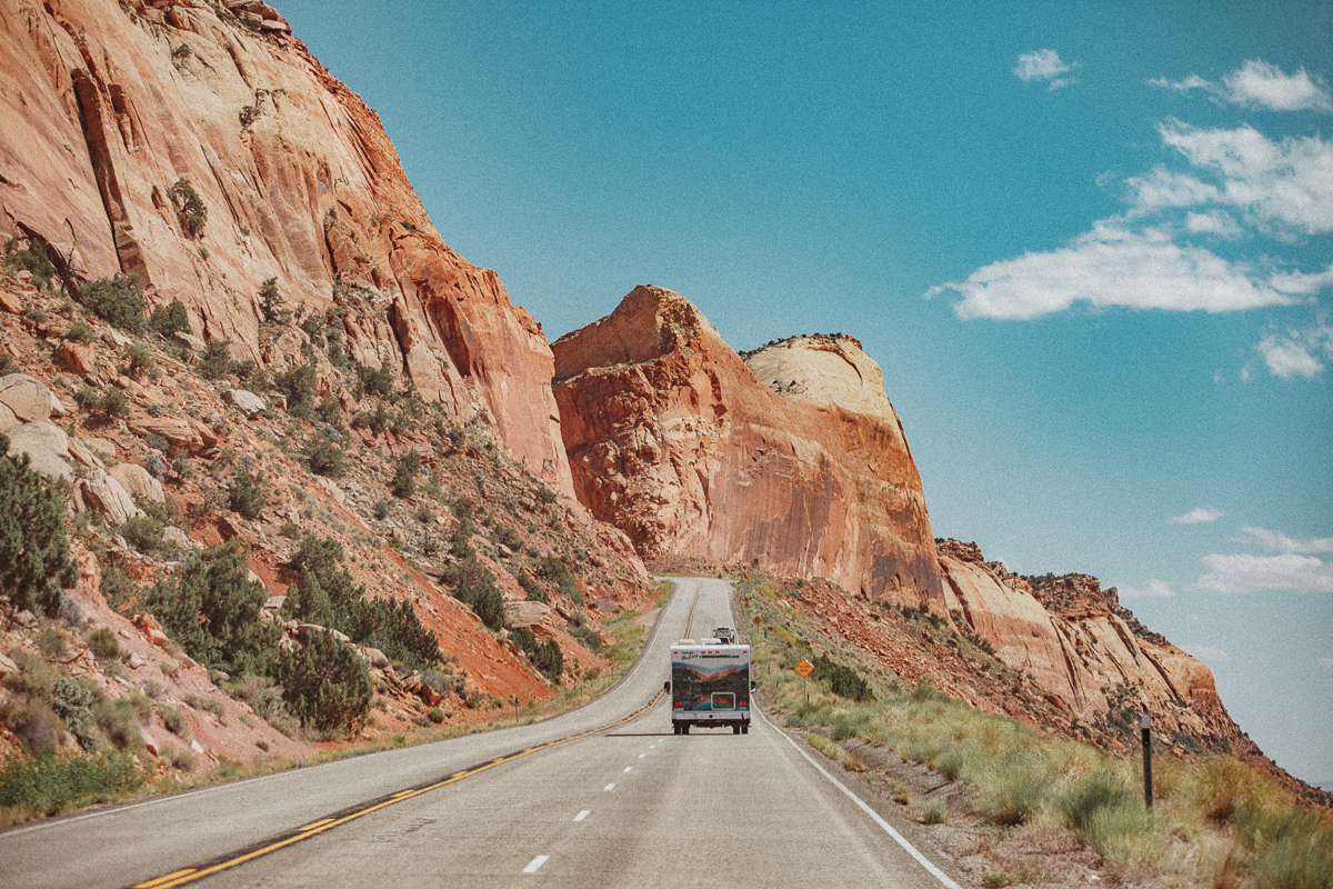Roadtrip in the United States with Cruise America