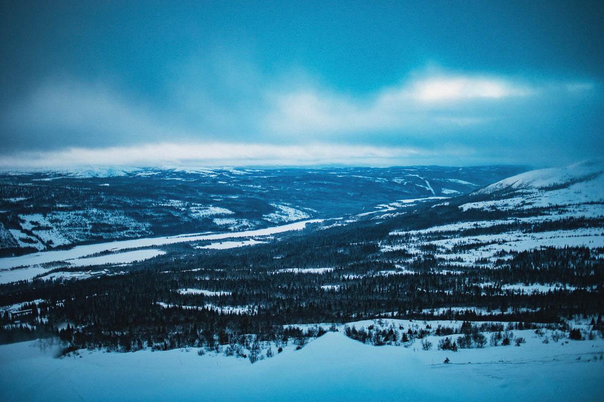 Jämtland i vinterskrud. Eller, Åre, om vi ska vara noga.