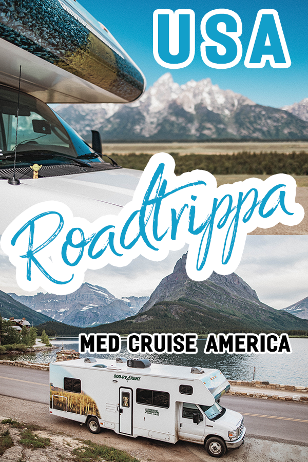 Roadtrippa med Cruise America i USA