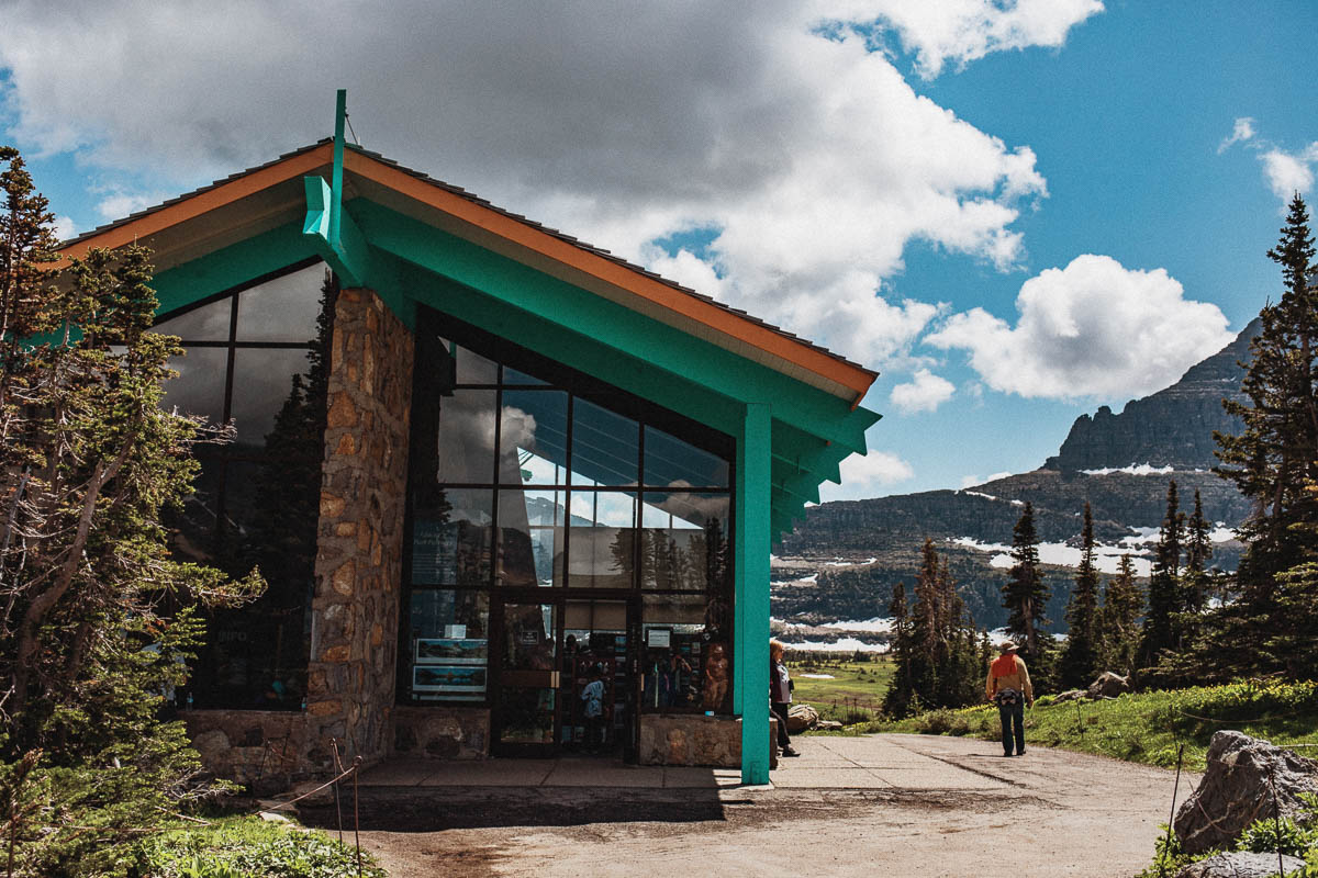 Logan Pass - Going-to-the-Sun Road