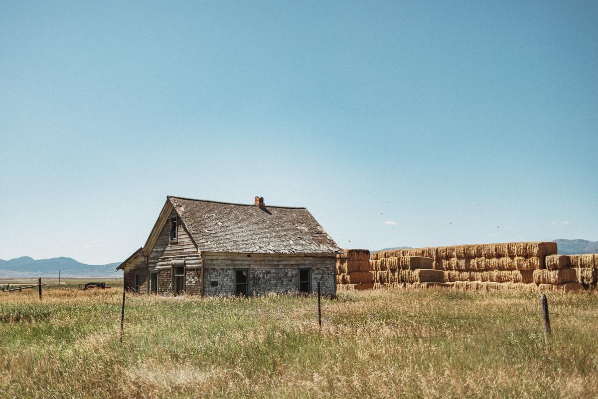 Chesterfield Historic Place - en välbevarad spökstad i Idaho