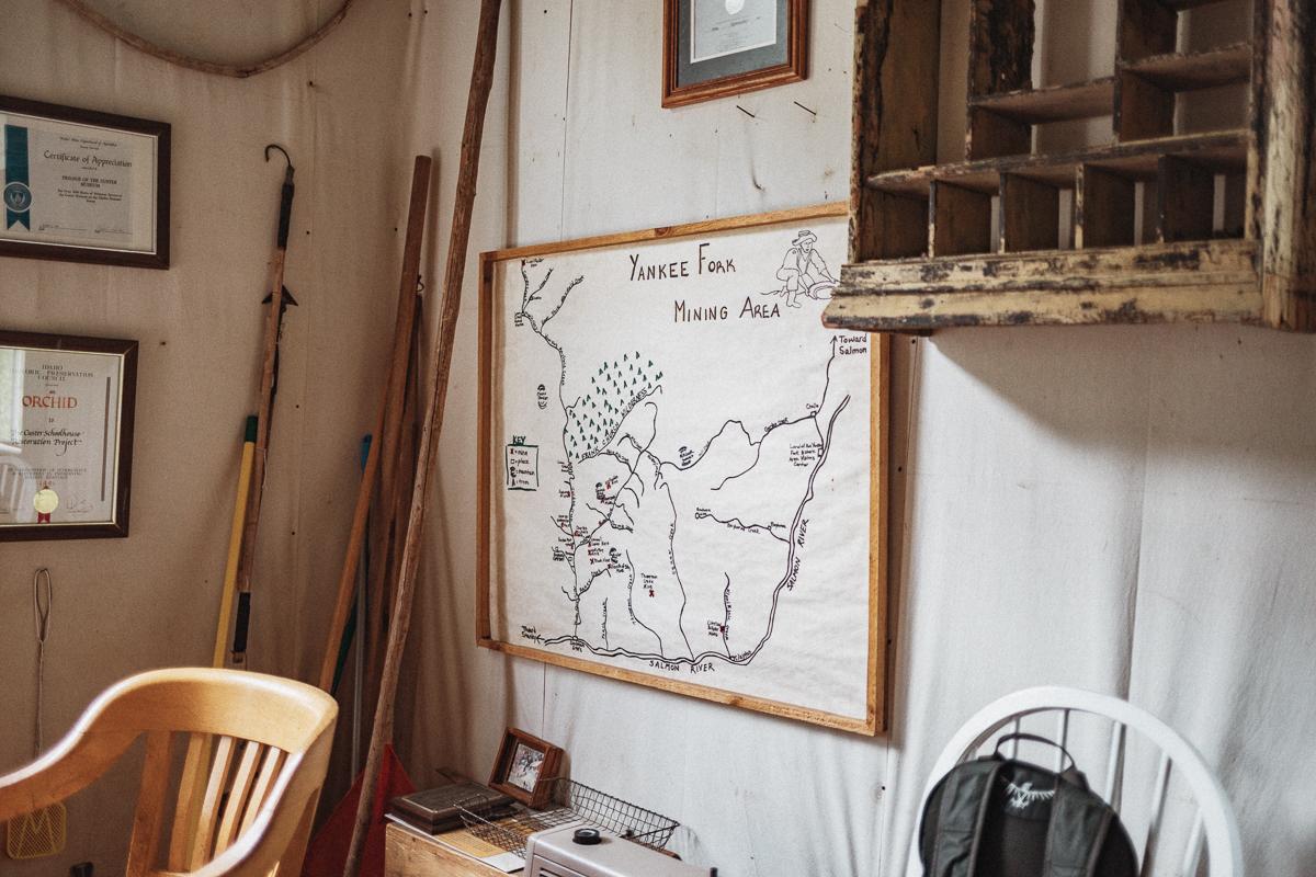 Spökstaden Custer | Custer Ghost Town | Custer Historic Mining Town | Idaho