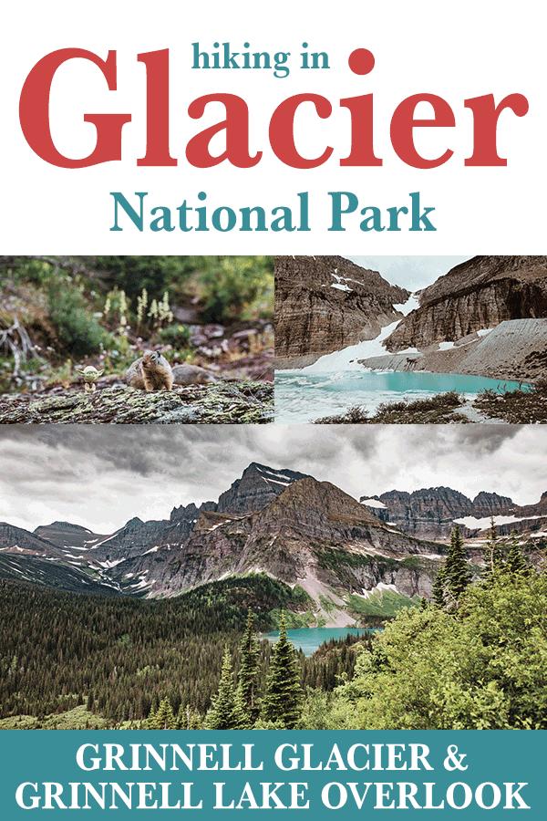 Vandring till Grinnell Glacier Overlook och Grinnell Glacier i M