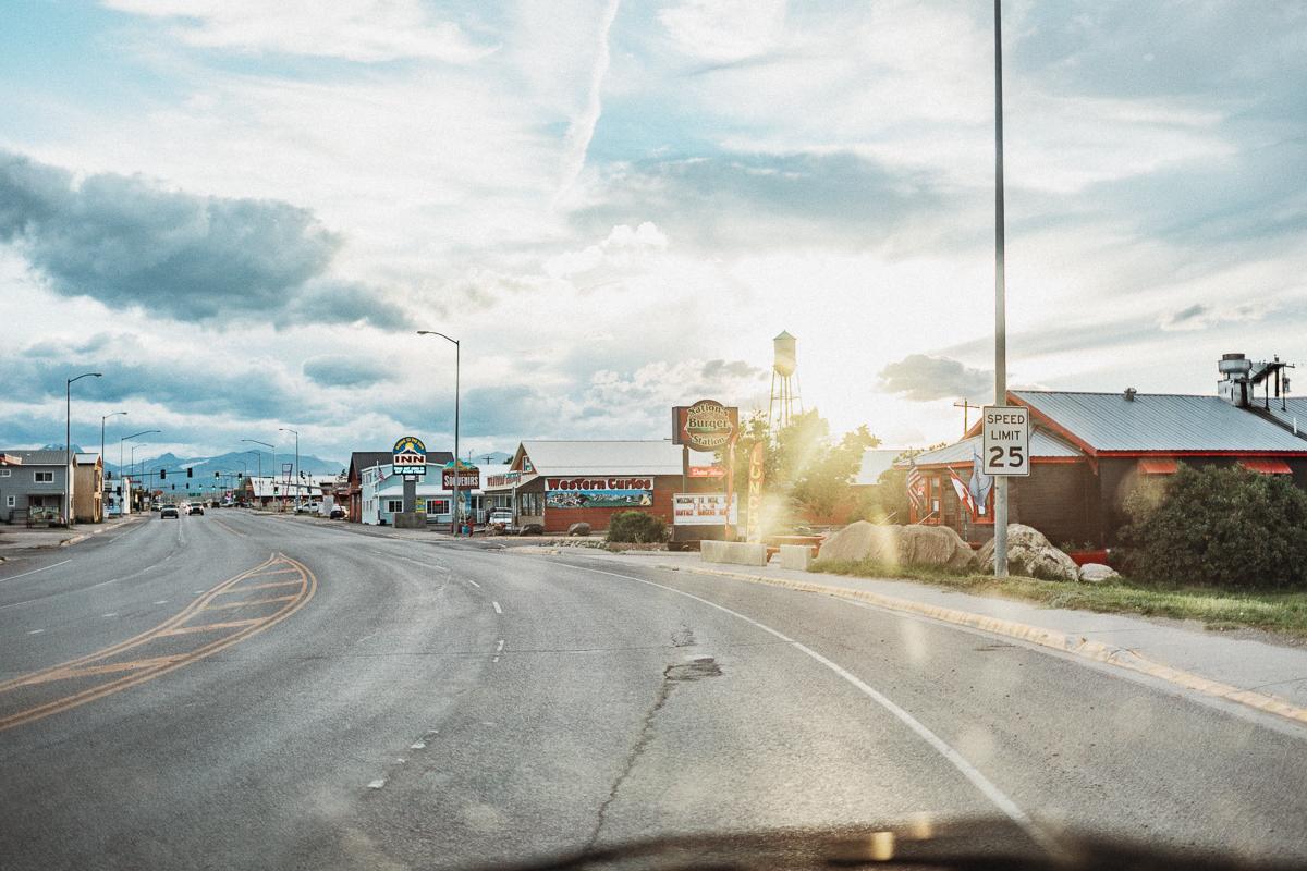 Från St. Mary till West Glacier (Montana)