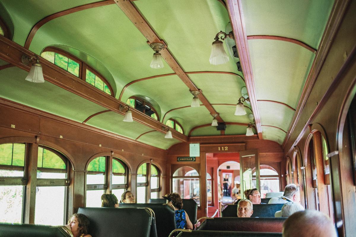 1880 Train - Hill City till Keystone i South Dakota