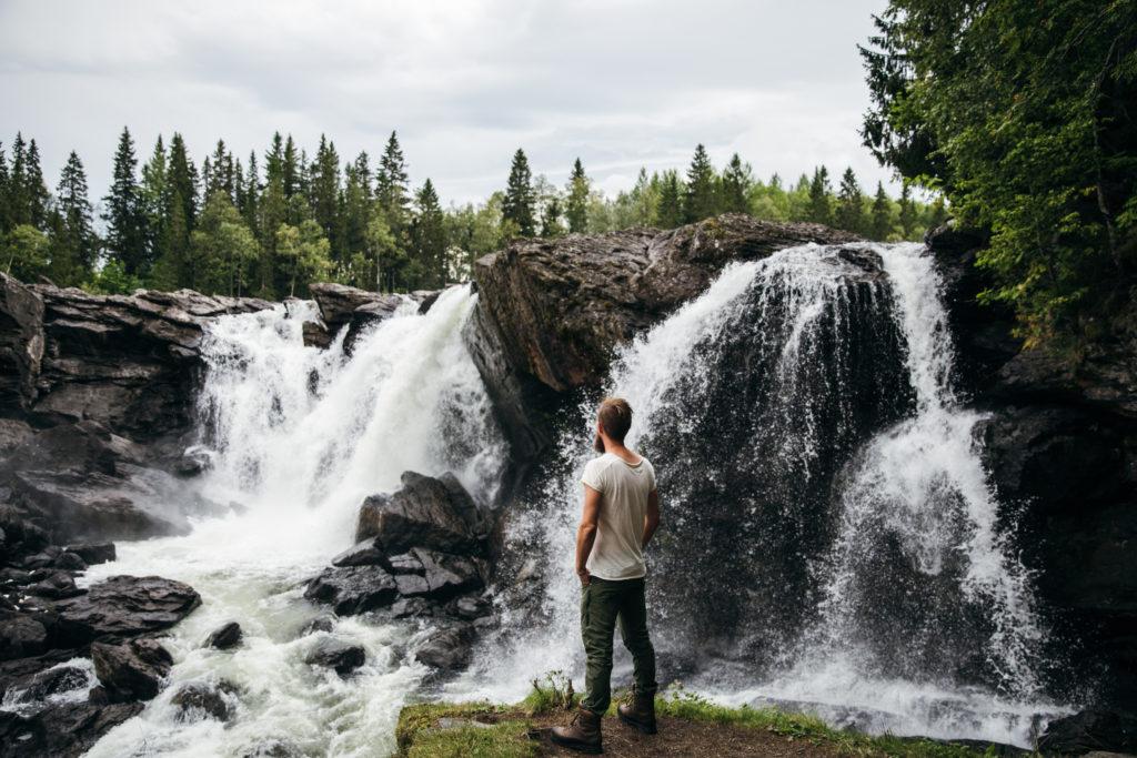 Ristafallet i Jämtland - Bild tagen av Maria Bååth