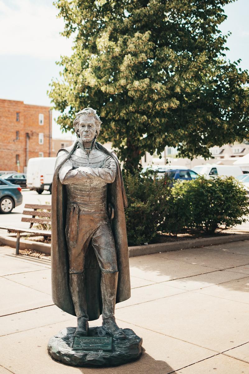 Presidenterna i Rapid City // South Dakota