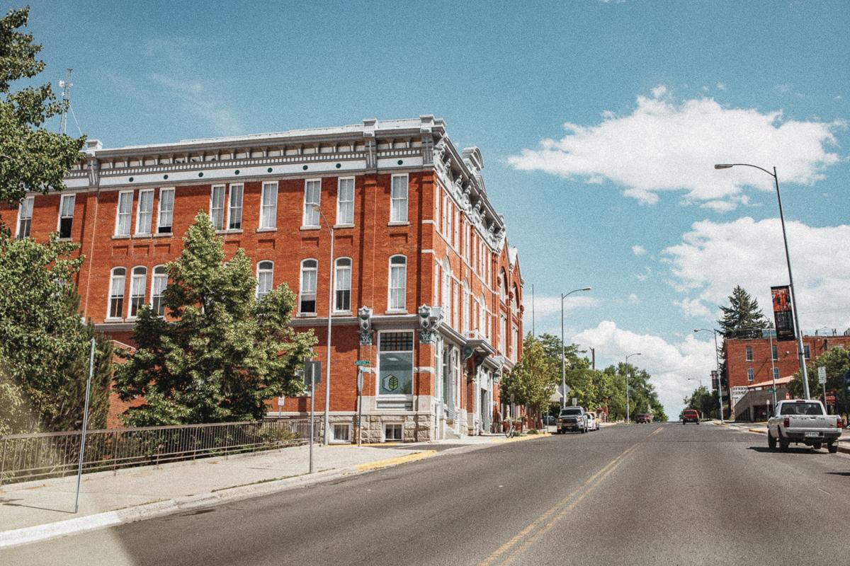Downtown Helena - Montana USA