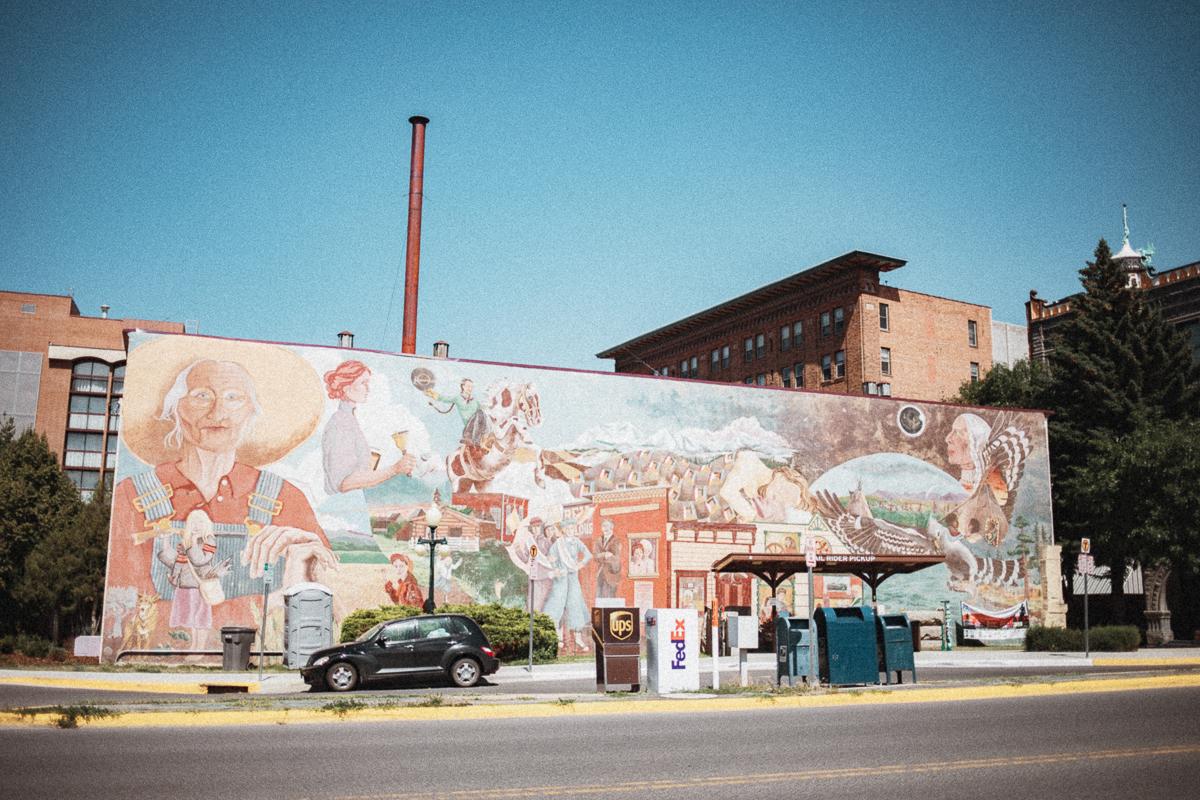 Women's Mural - Downtown Helena // Last Chance Gulch // Montana